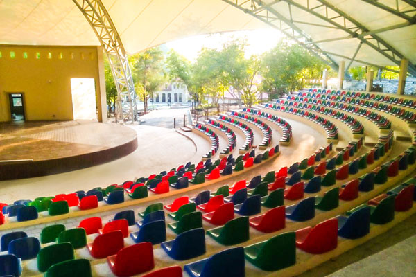 Концертный зал в Шеки