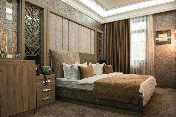 Спальная отеля Баку